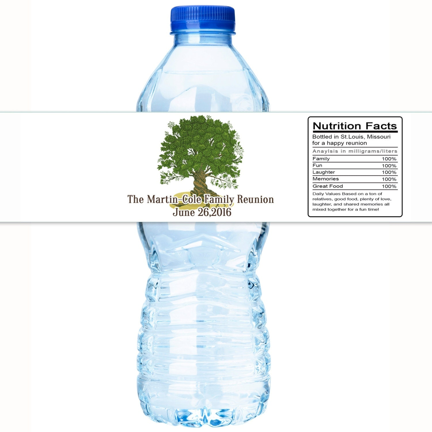 30 family reunion water bottle labels family reunion decor With family reunion water bottle labels