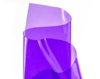 Purple transparent vinyl