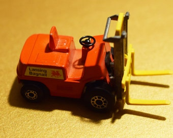 Forklift Truck 1972 Lesney Matchbox No.15 Open, Made In England