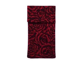 All in / mobile bag XS mini black red