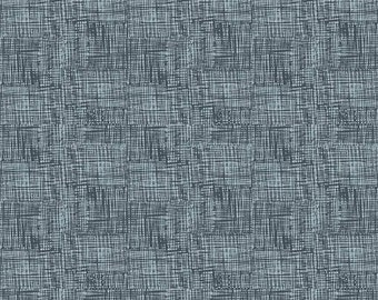 Knock on Wood by Riley Blake - Sketch Navy - Cotton Woven Fabric