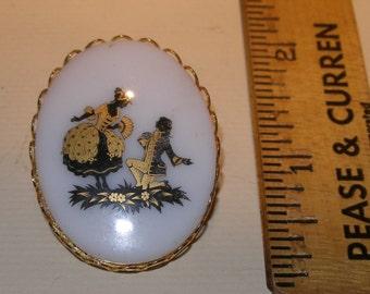 Porcelain Brooch(446)