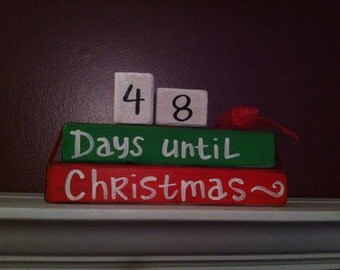 Thanksgiving & Christmas Countdown REVERSIBLE