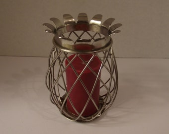 Pineapple Metal Candle Holder