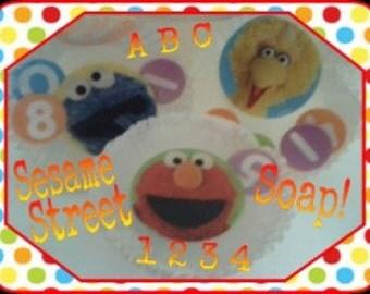 Sesame Street Soap!