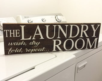 Laundry Room Decor - Laundry Room Sign - Home Decor - Wooden Sign
