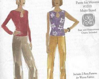 Christine Jonson Patterns #1010 - pants and top