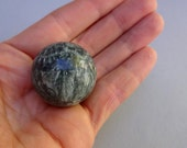 Small Seraphinite Clinochlore sphere 30 mm - collectible minerals specimen sphere home decor supplies