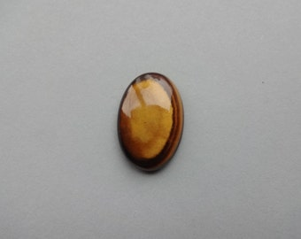 Tiger Eye oval cabochon 31x20 mm
