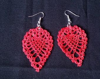 Crocheted Pineapple Earrings