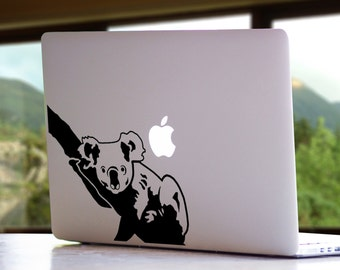 Koala Animal Australia Cute MacBook Mac iPad Laptop Vinyl Decal Sticker