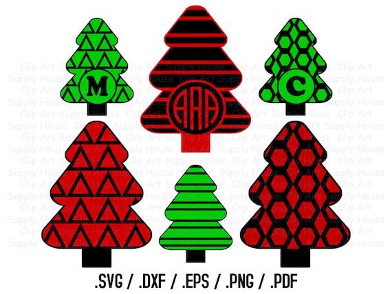 weihnachtsbaum cliparts weihnachten monogramm rahmen. Black Bedroom Furniture Sets. Home Design Ideas