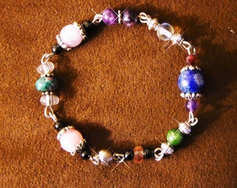 Custom Gemstone Bracelet - Design Your Own