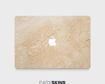 Gold Marble - MacBook Pro Skin | MacBook Air Sticker | Laptop Skin | MacBook Decal | Laptop Sticker | Easy Skins