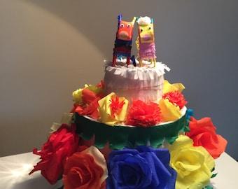 Wedding  Cake Pinata Wedding party decor.