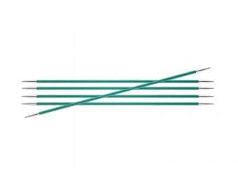 KnitPro Zing double pointed knitting needles, zing DPNS, 20cm length double pointed needles, all sizes, aluminium knitting needles.