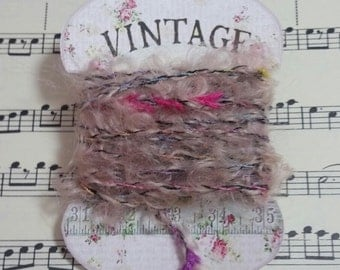 Yarn/Trim for use in Journals, Scrapbooks, Mixed Media and Collage