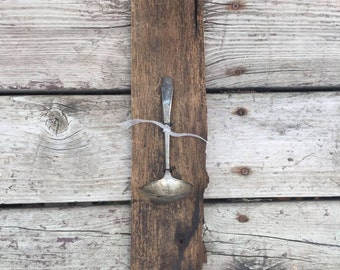 Vintage Silver Spoon candle Holder