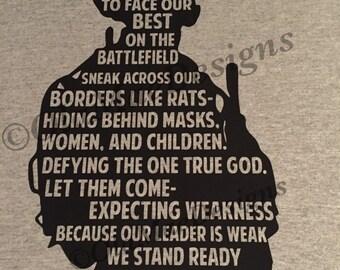 Enemy Cowards tshirt
