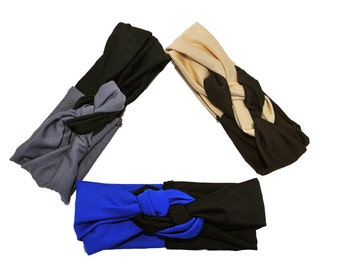 Sailor Knot Headwrap ( Head Wrap, Headband)