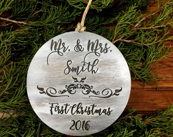 Christmas Ornament, First Christmas, Christmas Gift, Stocking Stuffer, Our First Christmas