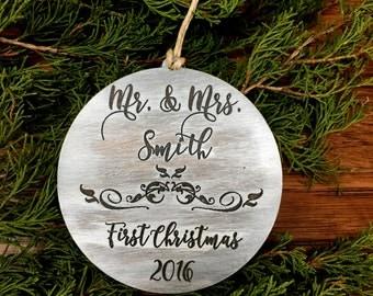 Christmas Ornament, First Christmas, Christmas Gift, Stocking Stuffer, Our First Christmas