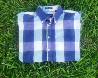 Vintage Short-Sleeve Botton Down Shirt