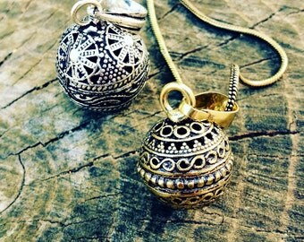 Angel Caller Necklace.Pregnancy ball. Harmony ball. Mexican bolla
