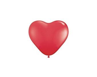 Balloons | Red Heart Balloons | Heart Balloon | Red Balloon | Valentines Balloon | Wedding Balloons | 10 Per Pack