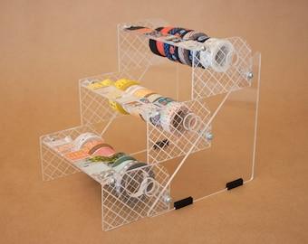 NEW! Tri Stacker Washi Tape Dispenser - Stacking Washi Storage