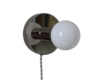 """Modern Wall Sconce - """"little guy"""" touch sensor accent Lamp for Desk or Wall"""