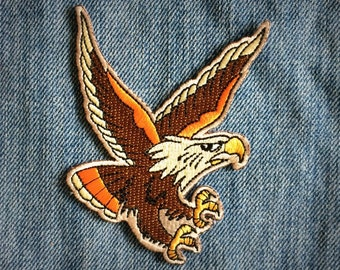 The Eagle Patch // Iron On Patch // Embroidered patch // Applique