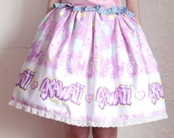 Sweet Graffiti lolita skirt [prototype]