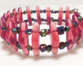 Electric Pink Bracelet