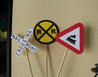 Rail Road Signs, Rail Road