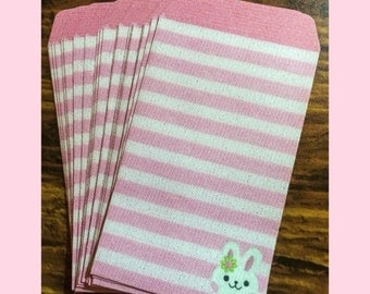 20 Mini Envelopes from Japan - Bunny