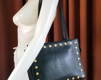 Vintage Gianni Versace Couture Classic Medusa Tote Bag