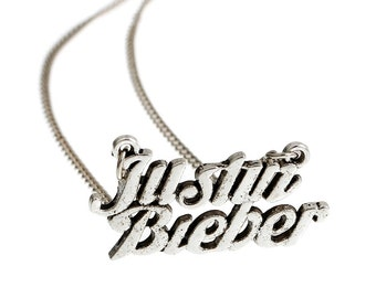 Justin Beiber  necklace