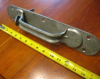 Large Industrial Door Handle , Industrial Door Handle, Galvanized Industrial Handle