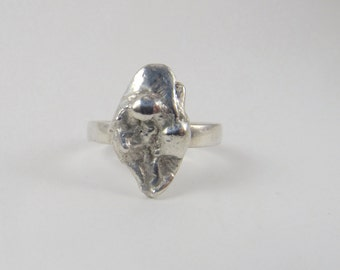 Karma Ring, Sterling Silver, US size 6.25