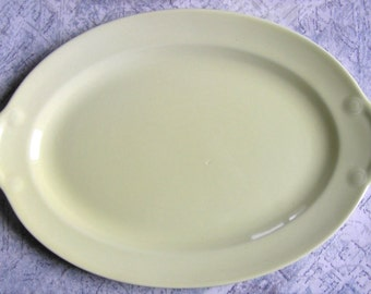 """Pastel Yellow Lu-Ray 12"""" platter - Taylor Smith and Taylor TS&T"""