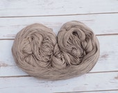 Hopi Sunflower Seed dyed,  Merino/Silk blend, Fingering weight ***Pewter***