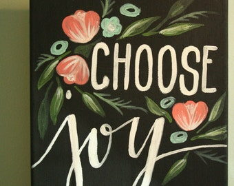 Choose Joy Painting
