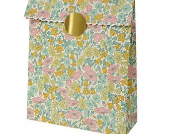 Liberty Poppy and Daisy Treat Bags