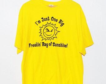 Vintage Graphic Sun Shirt