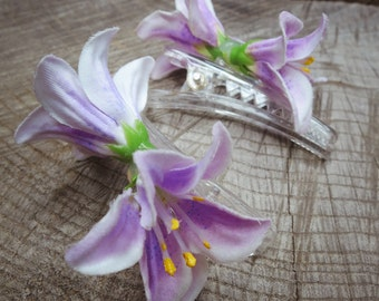 Lily Hair Clip ~2 pieces #100934