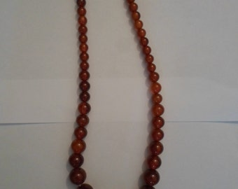 bakelite necklace
