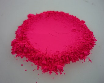 Fluorescent NEON MAGENTA (Pink) Pigment for Indie Nail Polish, Supplies Arts, Crafts, Soap Supplies, Candle