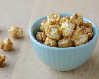 popcorn, Caramel gourmet popcorn, wedding favor, snack