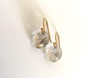 KATE EARRING * light smoke-best selling simple drop earring